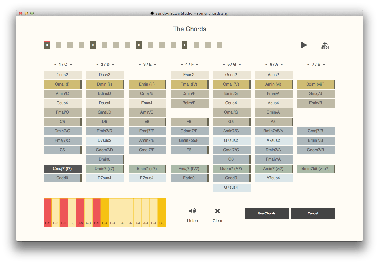 FeelYourSound Sundog Scale Studio (chords page)