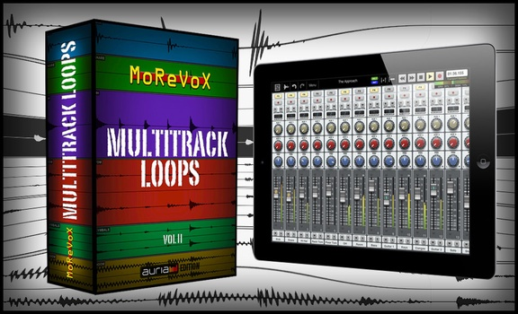 Morebox Multitrack Loops Volume 2