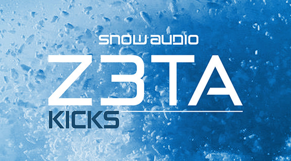 Snow Audio Z3ta Kicks