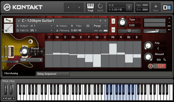 Tru-Urban Urban-Pro Guitars for Kontakt
