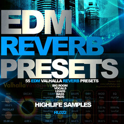 HighLife EDM Reverb Presets