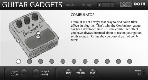 Musical Entropy Guitar Gadgets
