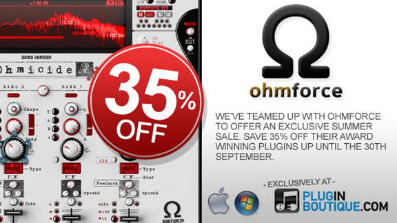 35% off Ohm Force plugins