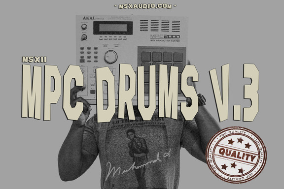MSXII Sound Design MPC Drums V.3