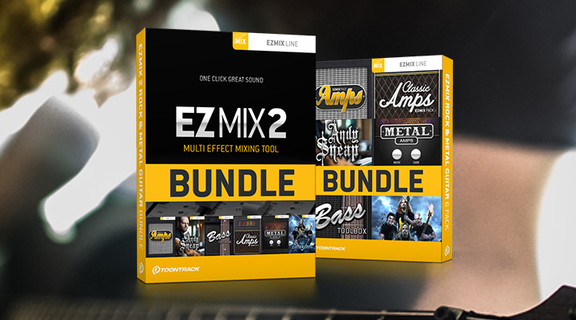 EZmix 2 Rock & Metal Bundle
