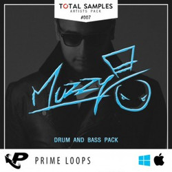 Total Samples Muzzy: Drum & Bass