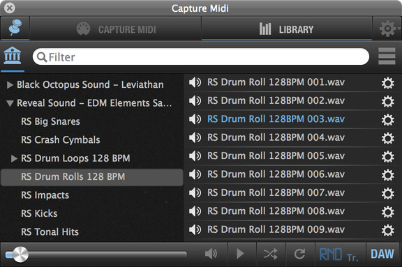 AudioCR Capture Midi