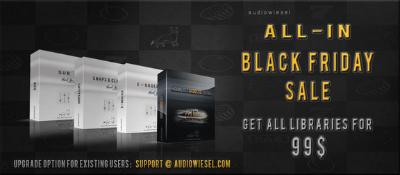 Audiowiesel Black Friday Special