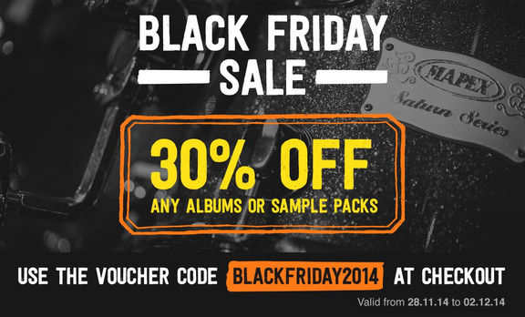 Drumdrops Black Friday Sale