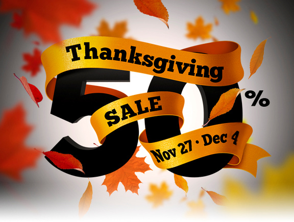 Heavyocity Thanksgiving Sale