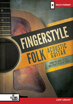 In Session Audio Fingerstyle Folk Acoustic Guitar