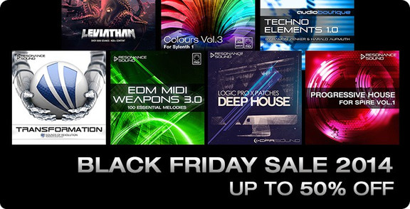 Resonance Sound Black Friday Sale