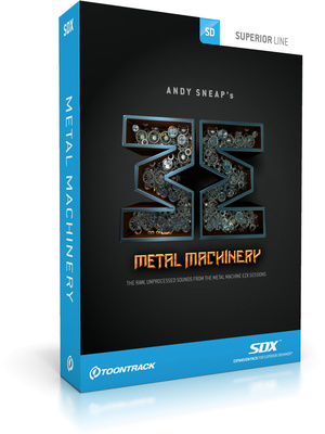 Toontrack Metal Machine SDX