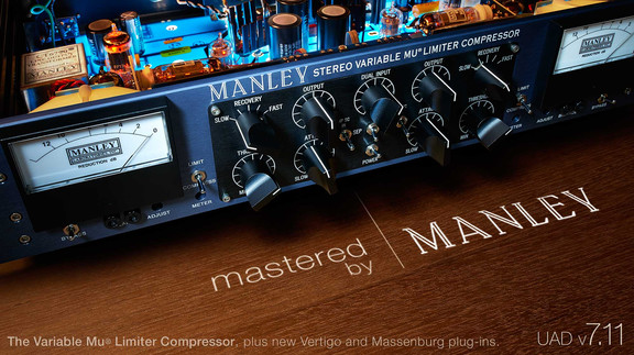 Manley Variable Mu Limiter Compressor Plug-In