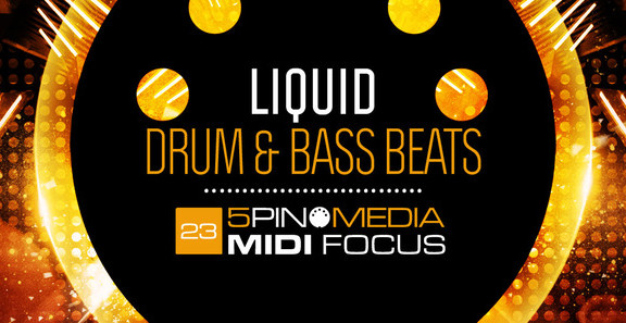 5Pin Media Liquid Drum & Bass Beats
