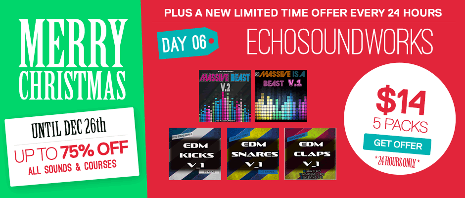 Echo Sound Works Christmas Bundle