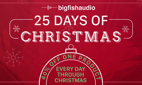 Big Fish Audio 25 Days of Christmas