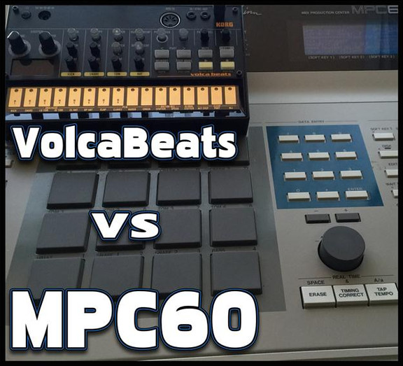 Goldbaby MPC60 vs VolcaBeats