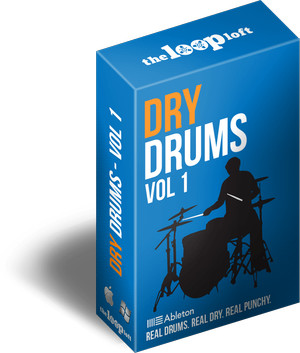 The Loop Loft Dry Drums Vol 1 for Ableton