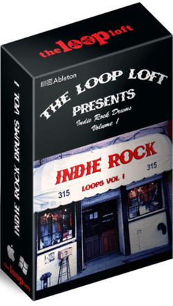 The Loop Loft Indie Rock Drums Vol 1 for Ableton Live