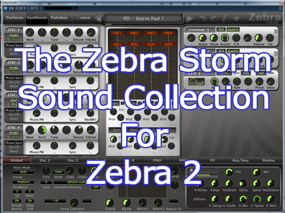 Wags RFM Zebra Storm Sound Collection