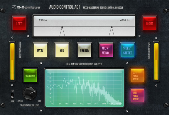 G-Sonique Audio Control AC1