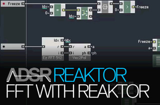 ADSR Sounds FFT with Reaktor