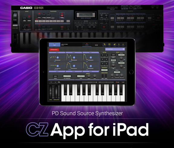 Casio CZ App for iPad