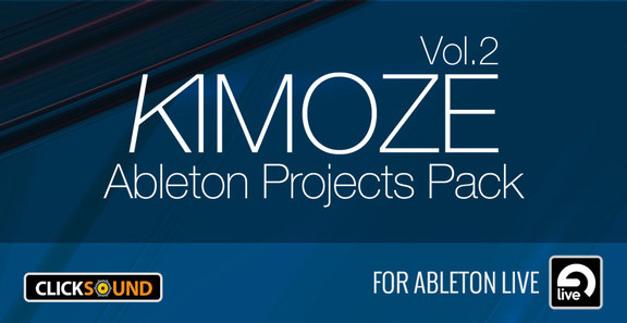 Kimoze Ableton Projects Pack Vol. 2