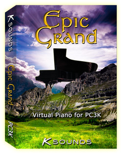 K-Sounds Epic Piano for Kuzweil PC3K