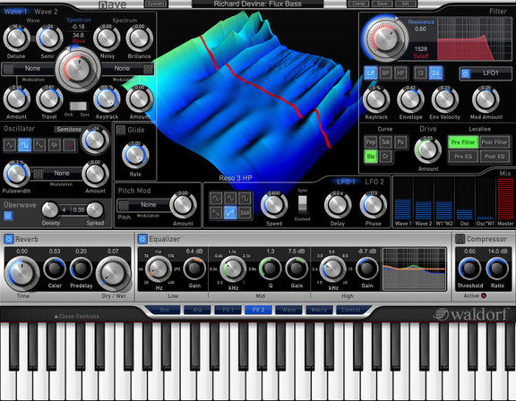 Waldorf NAVE for VST/AU/AAX