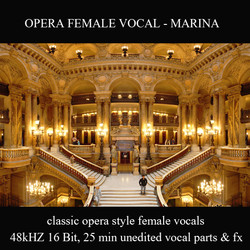 Best Sample Libraries Opera Female Vocal by Marina