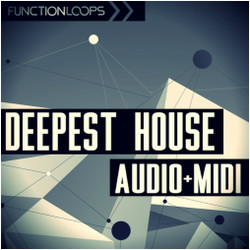 Function Loops Deepest House Audio + MIDI