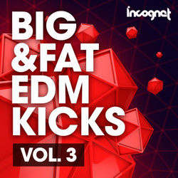 Incognet Big & Fat EDM Kicks Vol 3