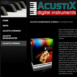 AcustiX Soundtrack Strings