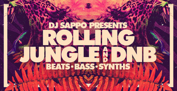 DJ Sappo Rolling Jungle and DnB