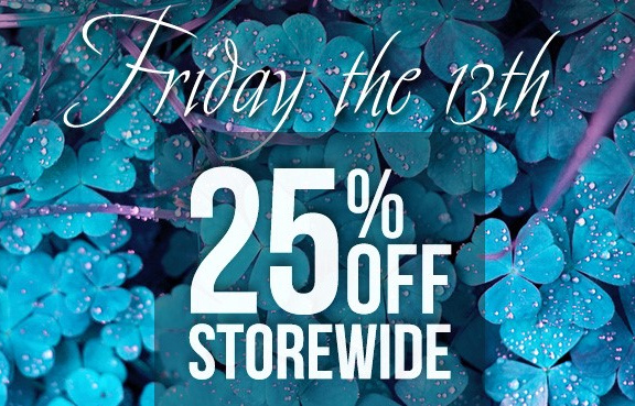 UVI Friday 13th Sale