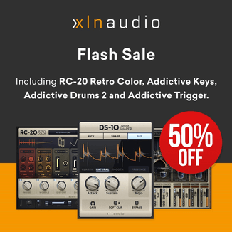 50% off XLN Audio