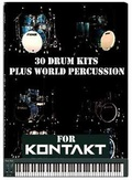 AudioWarrior 30 Drum Kits Plus 12 World Percussion