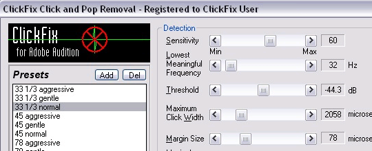 Jeffrey Klein ClickFix for Adobe Audition