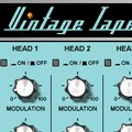 Retro Sampling Vintage Tape Delay