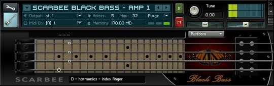Scarbee Black Bass Amped 1