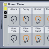 Soniccouture Bowed Piano in Ableton Live
