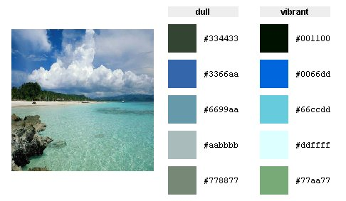 DeGraeve Color Palette Generator