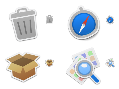 Iconfactory Sticker Pack 1 icon set