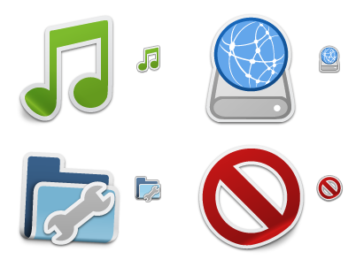 Iconfactory Sticker System icon set