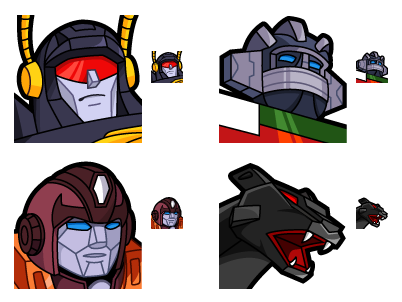 Iconfactory Transformers X Vol. 3 icon set