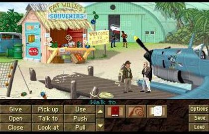 Screenshot of Indiana Jones and the Fountain of Youth