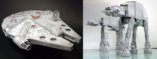 Star Wars paper models