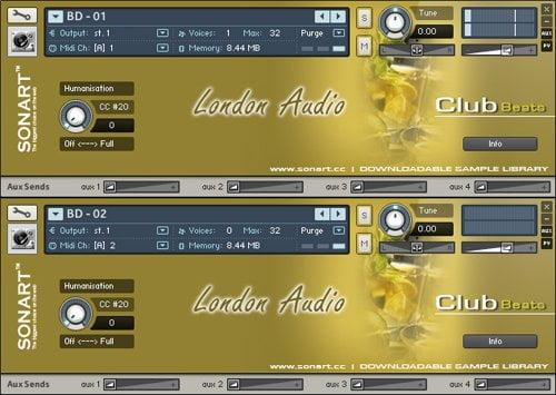 sonart london audio club beats